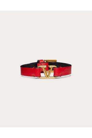 Valentino Vlogo Bracelet Women Calfskin 100% OneSize