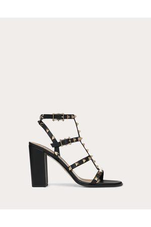 Valentino Rockstud Ankle Strap Sandal 90 Mm Women 100% Calfskin 37