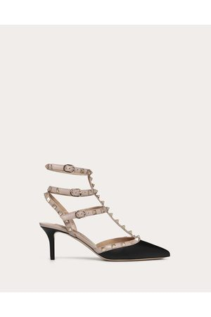 Valentino Rockstud Calfskin Ankle Strap Pump 65 Mm Women 35