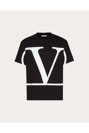 VALENTINO UOMO Vlogo T-shirt Man 100% Cotton S