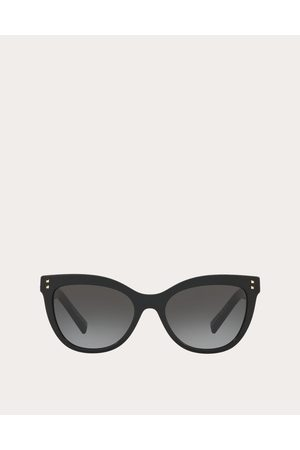 VALENTINO OCCHIALI Cat-eye Acetate Sunglasses With Studs Women 100% Acetato OneSize