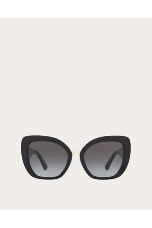 VALENTINO Women Sunglasses - Oversized Cat-eye Acetate Sunglasses Women OneSize