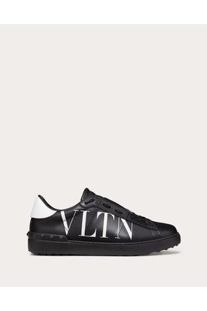 VALENTINO GARAVANI UOMO Open Sneaker With Vltn Logo Man Calfskin 100% 44
