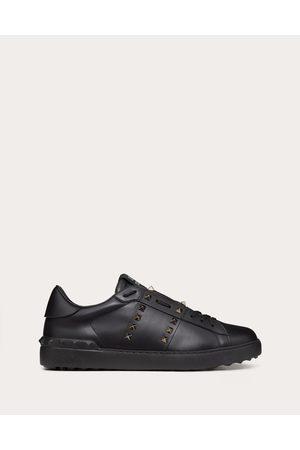 VALENTINO GARAVANI UOMO Rockstud Untitled Noir Calfskin Sneaker Man Calfskin 100% 44