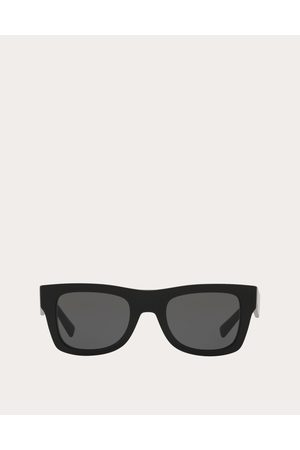VALENTINO OCCHIALI Vltn Square Frame Acetate Sunglasses Man 100% Acetato OneSize