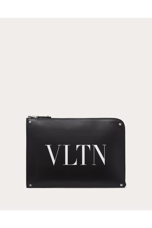 VALENTINO GARAVANI UOMO Leather Vltn Briefcase Man 100% Bovine Leather OneSize