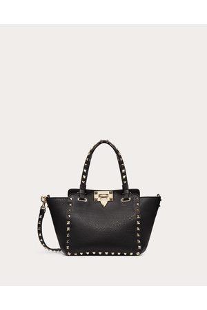 VALENTINO GARAVANI Mini Rockstud Grainy Calfskin Bag Women 100% Pelle Di Vitello - Bos Taurus OneSize