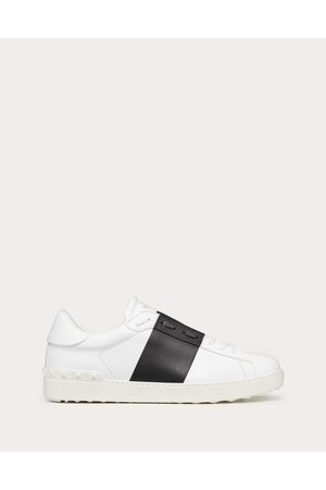 VALENTINO GARAVANI UOMO Calfskin Open Sneaker Man / Calfskin 100% 40.5