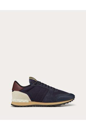VALENTINO GARAVANI UOMO Fabric Rockrunner Sneaker Man Dark Polyester 100% 39