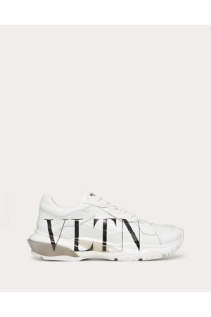 VALENTINO GARAVANI Men Sneakers - Vltn Bounce Calfskin Sneaker Man / 100% Calfskin 100% Calfskin 42.5