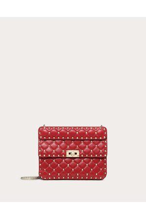 Valentino Women Shoulder Bags - Medium Rockstud Spike Bag Women 100% Calfskin OneSize