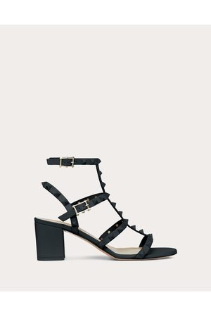Valentino Rockstud Ankle Strap Sandal With Tonal Studs 60 Mm Women Calfskin 100% 40