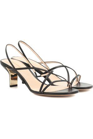 Nicholas Kirkwood Leeloo 60 leather sandals