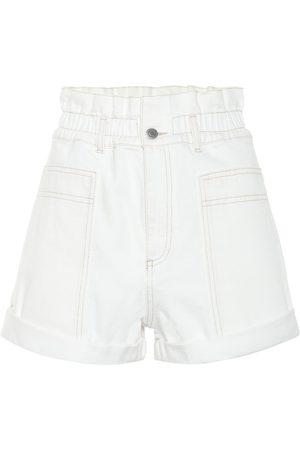 Stella McCartney High-rise denim shorts