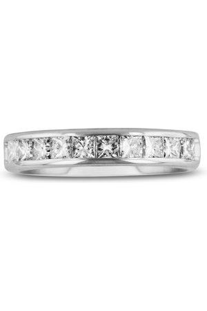 SuperJeweler 1 Carat Channel Set Diamond Comfort Fit Anniversary Wedding Band Ring in 14k (4 g)