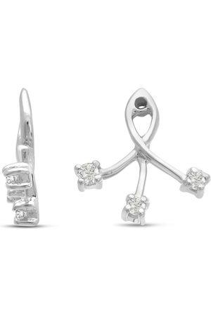 SuperJeweler 14K Branch Diamond Earring Jackets