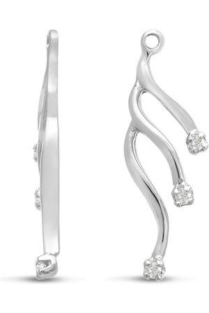 SuperJeweler 14K Cascading Branch Diamond Earring Jackets
