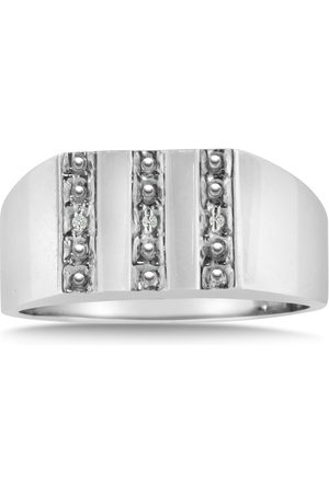 Hansa Men's Diamond Ring Crafted in Solid