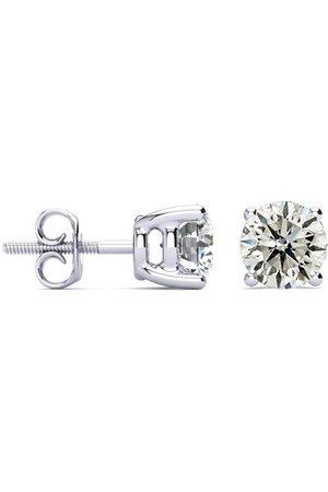 SuperJeweler 2 Carat Diamond Stud Earrings Set in 14K