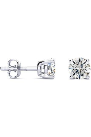 SuperJeweler 1 Carat Diamond Stud Earrings in 14k (0.8 g)