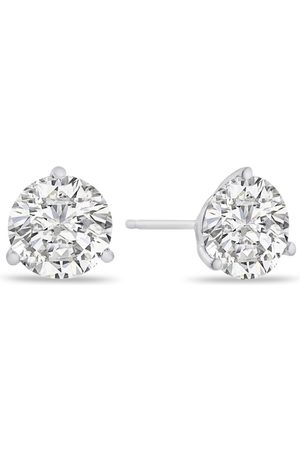 SuperJeweler 4 Carat Diamond Martini-Set Diamond Stud Earrings