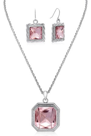 Adoriana Topaz Necklace w/ Free Matching Earrings by