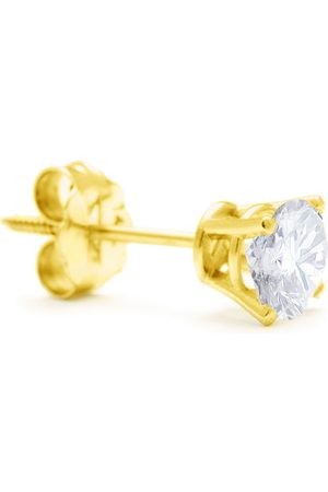 Hansa Classic 2/3 Carat Single Diamond Stud Earring in 14k