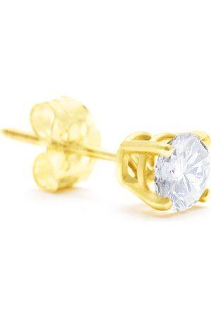 Hansa Classic 1/2 Carat Single Diamond Stud Earring in 14k