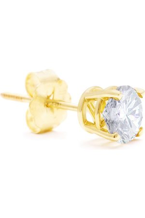 Hansa Classic 1 Carat Single Diamond Stud Earring in 14k