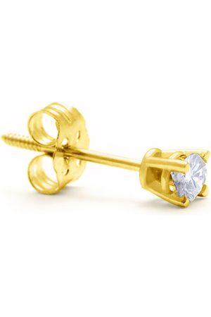 Hansa Classic 1/4 Carat Single Diamond Stud Earring in 14k