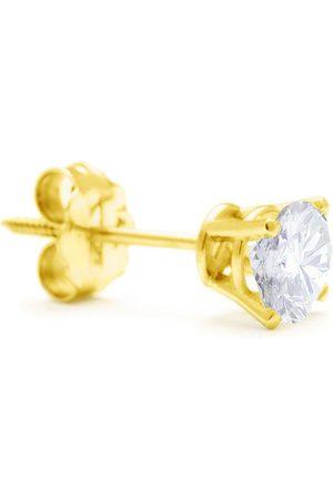 Hansa Classic 3/4 Carat Single Diamond Stud Earring in 14k