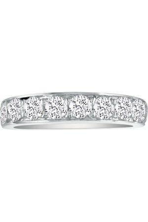 SuperJeweler 1/2 Carat Prong Set Diamond Wedding Band in 14k