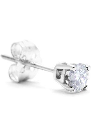 Hansa Classic 1/3 Carat Single Diamond Stud Earring in 14k