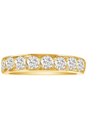 SuperJeweler 1/2 Carat Prong Set Diamond Wedding Band in