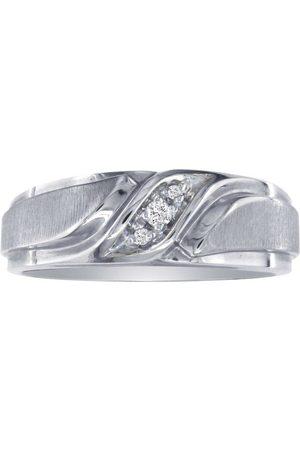 SuperJeweler Men's Promise Ring w/ Three Diamonds in (5.2 g)