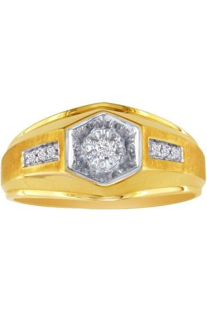 SuperJeweler Men's Promise Ring w/ 7 Diamonds in (4.6 g)