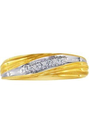 SuperJeweler Men's Promise Ring w/ Five Diamonds in (5 g)