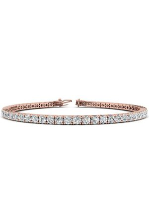 SuperJeweler 9 Inch 14K 5 Carat Diamond Tennis Bracelet