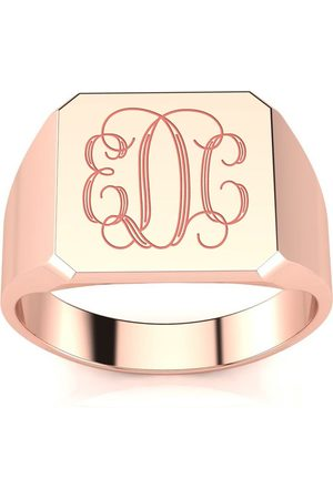 SuperJeweler Men Rings - 14K Men's Octagon 5.6 Gram Signet Ring w/ Free Custom Engraving