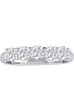 SuperJeweler 1/2 Carat Fine Prong Set Traditional Diamond Wedding Band in 14k (2.3 g)