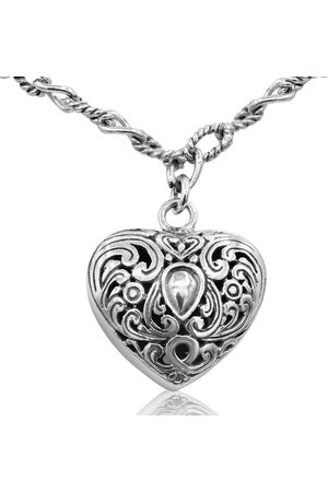 SuperJeweler Balinese Hand Crafted Sterling Necklace