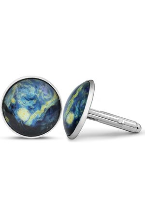 Octavius Vincent Van Gogh Starry Night Cufflinks
