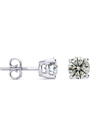 SuperJeweler 1.25 Carat Diamond Stud Earrings in 14k (1.5 Grams)
