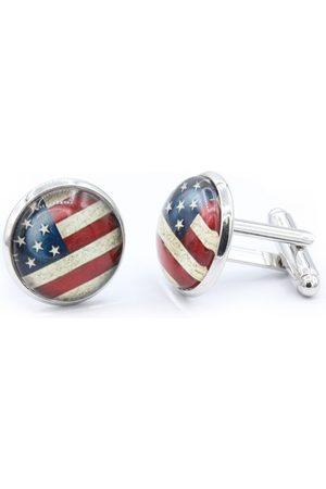 Octavius American Flag Cufflinks