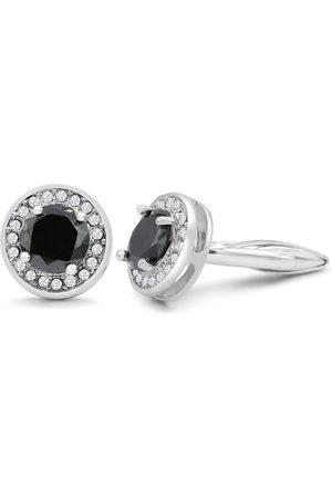 Octavius Black Onyx & Crystal Cufflinks