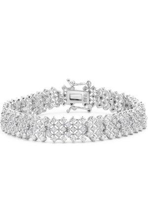 SuperJeweler 2 Carat Diamond Tennis Bracelet in Overlay