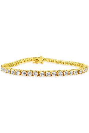 SuperJeweler 7 Inch 14K (11.2 g) 5 Carat Diamond Tennis Bracelet