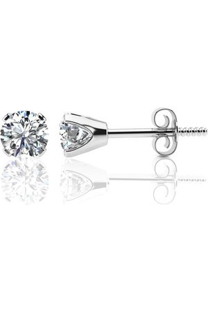 SuperJeweler 1.30 Carat Colorless Diamond Stud Earrings