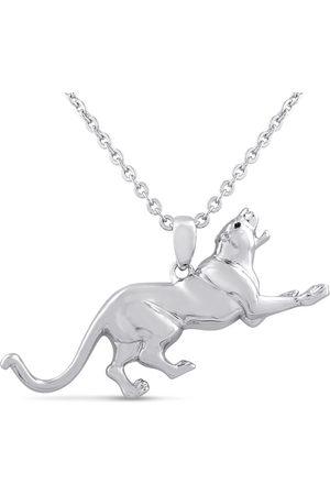 SuperJeweler Running Jaguar Necklace