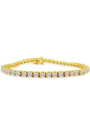 SuperJeweler 7.5 Inch 2.10 Carat Diamond Tennis Bracelet in 14K (10 g)